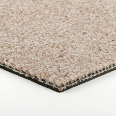 Cheap Carpet Tiles | Beige / Light Brown | Loop Pile | Resident. Use | £10.80/m²