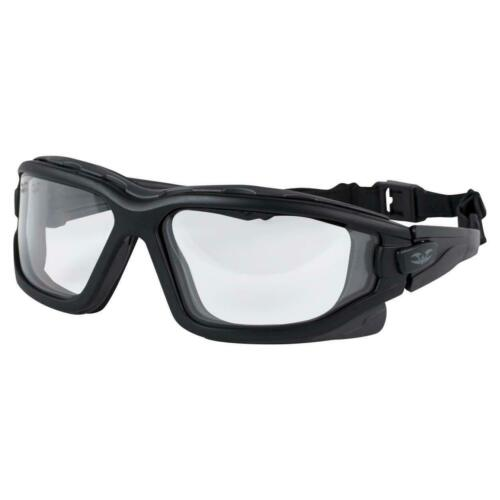 Valken V-Tac Zulu Slim Fit Airsoft Goggles Protective Glasses Clear Black New