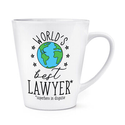 World's Mejor Abojado 341ml Latte Taza Chiste Divertido Favourite Abogado Law
