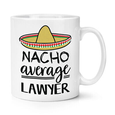 Nacho Media Abojado 284ml Taza Worlds Best Favourite Abogado Divertido Genial