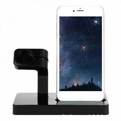 iPhone 7 8 X XS 11 Pro Dock & Apple Watch 1234 Dock Charging Station iWatch UK