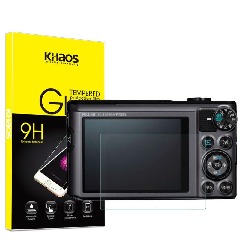 Khaos For Canon SX720HS SX710HS SX620HS SX610HS Tempered Glass Screen Protector