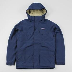 Patagonia Outdoor Men's Isthmus Parka Jacket Coat Navy Blue ...