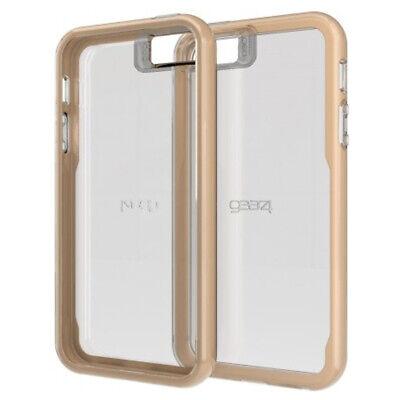 Gear4 Jumpsuit D30 Tough Case Cover for Apple iPhone 5 / 5S / SE - Clear / Gold