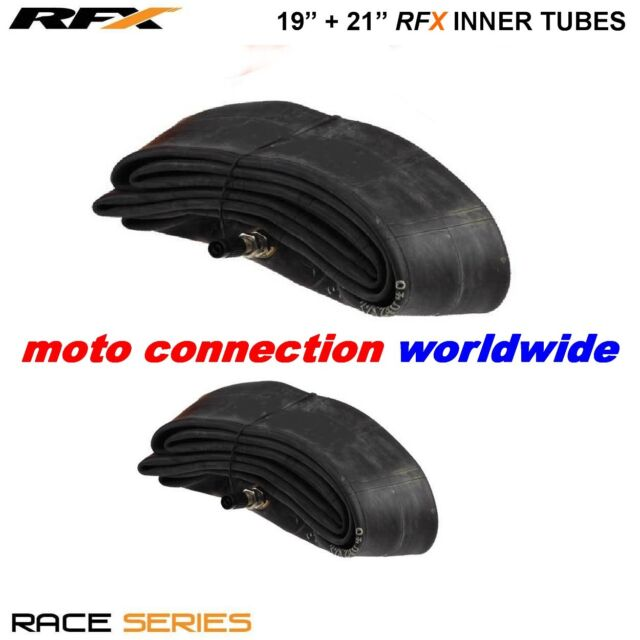 """RFX RACE SERIES FRONT & REAR INNER TUBES 19"""" + 21"""" FOR YAMAHA YZF250 YZF450 2017"""