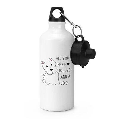 Alles Was Sie Brauchen Ist Love And A Dog Sport Getränke Wasserflasche - Welpen ()