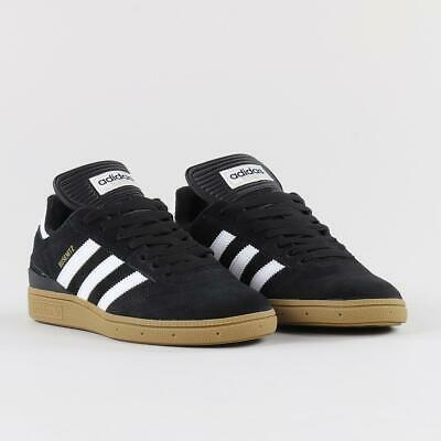 Adidas Men's Originals Skateboarding Busenitz Shoes Trainers Black White Gum