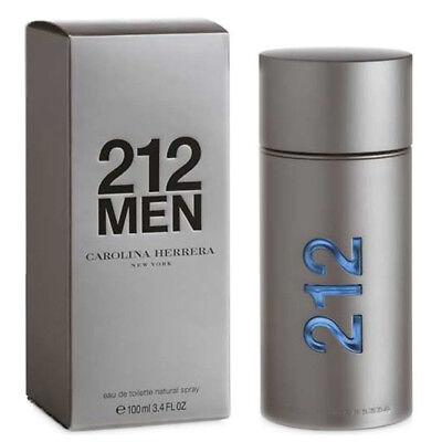 212 MEN de CAROLINA HERRERA - Colonia / Perfume EDT 100 mL...