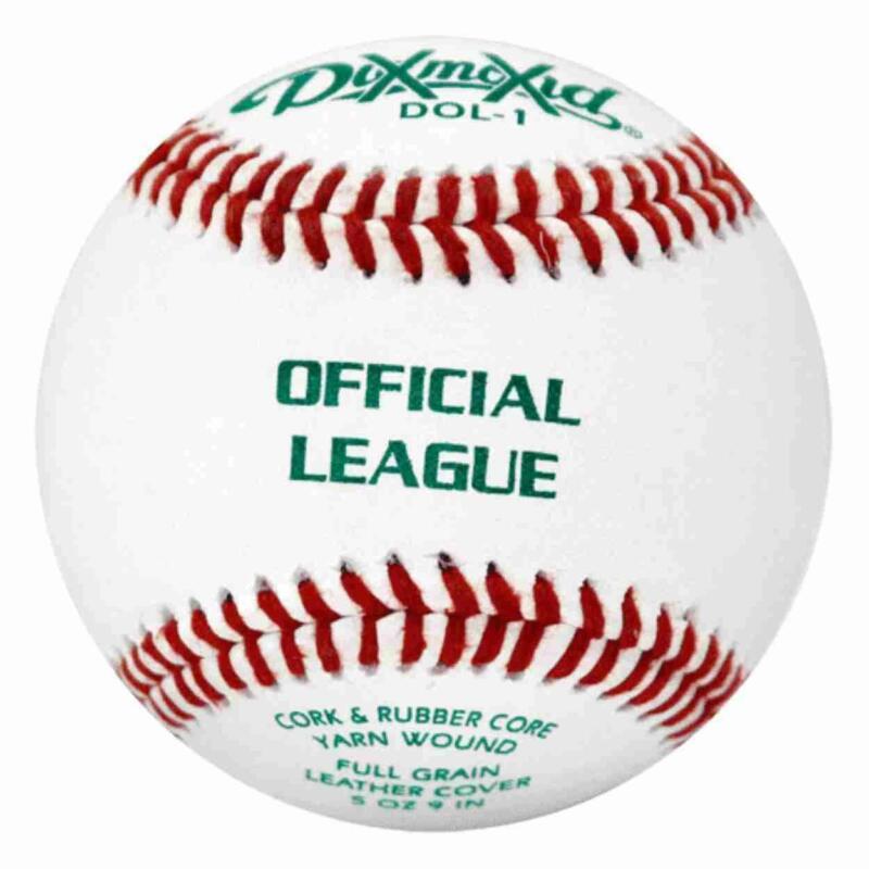 Diamond Official League Leather Grade Practice Baseballs (Dozen) DOL-1 BLEM