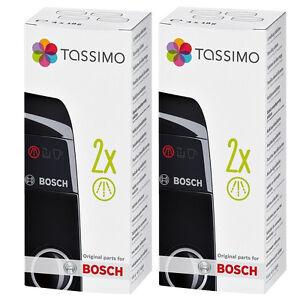 2 x Tassimo Bosch Descaling Coffee Maker Machine Descaler Cleaner Tablets 311530
