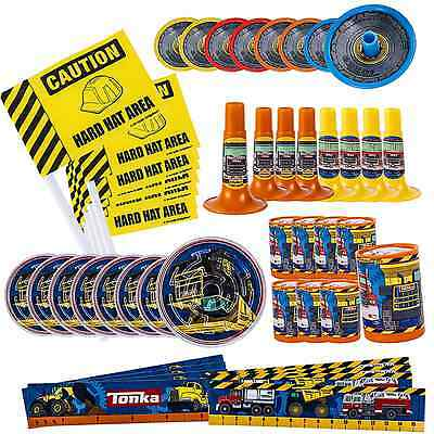 Tonka Truck Mega Favors Pack CONSTRUCTION Boys Birthday Party Supplies Rescue 48 - Tonka Truck Party Supplies