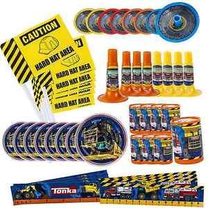 Tonka Truck Mega Favors Pack CONSTRUCTION Boys Birthday Party Supplies Rescue 48