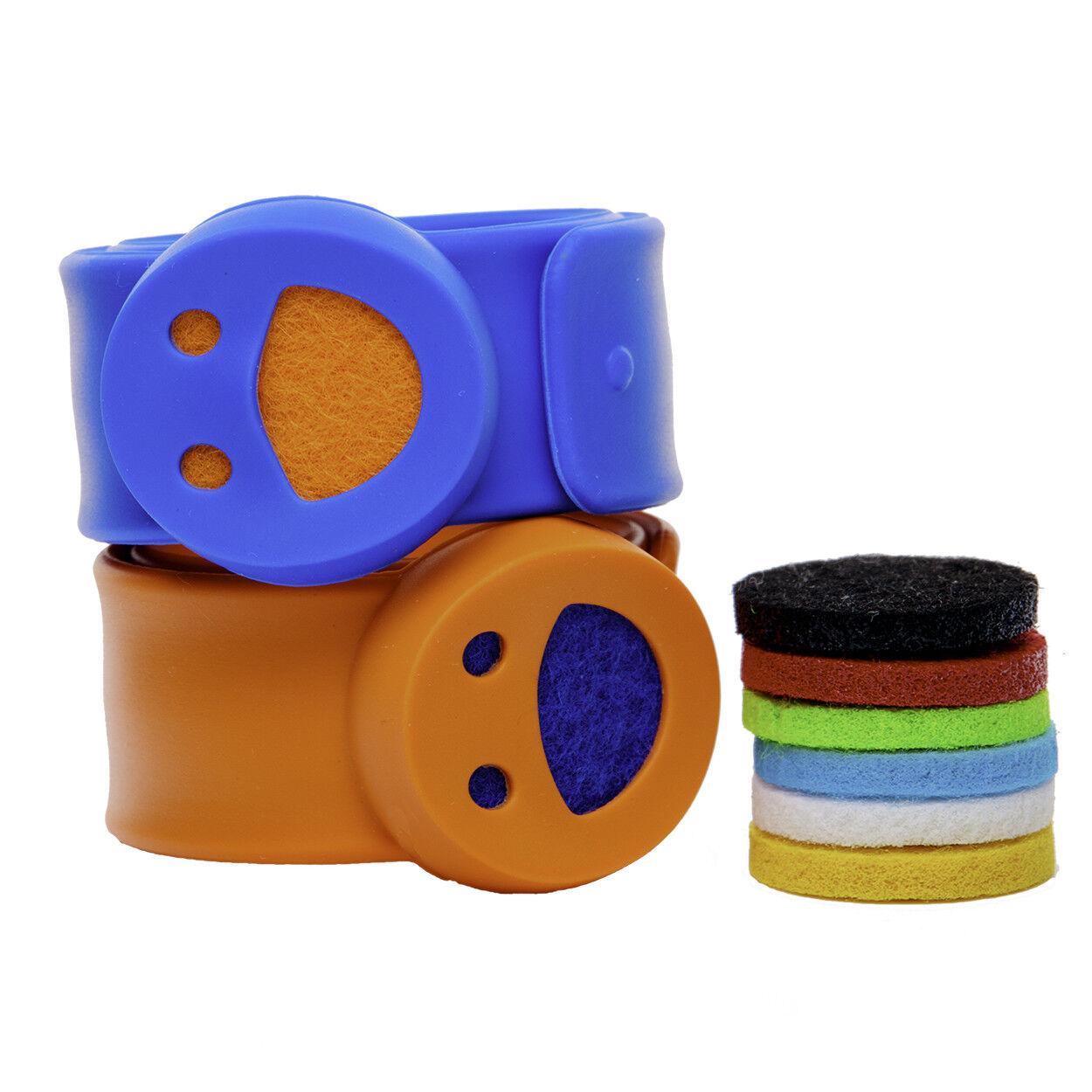 Kids Diffuser Bracelets - Set of 2 Essential Oil Bracelets w