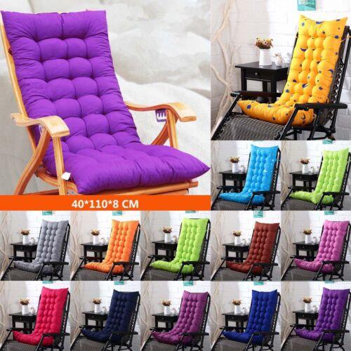 Sitzkissen Polster Auflagen Hochlehner Gartenstühle Sessel Kissen 40*110*8cm