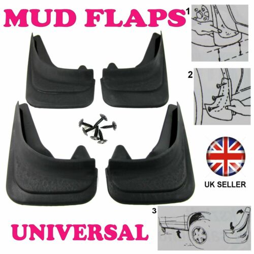 1/2R FOR LEXUS IS200 SET MOULDED MUDFLAPS 4 x MUD FLAPS FRONT & REAR