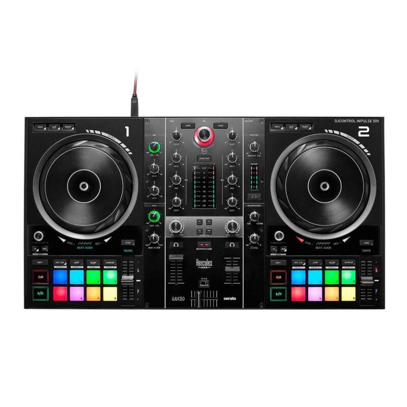 Hercules AMS-DJC-INPULSE-500 DJ Controller (4780909)