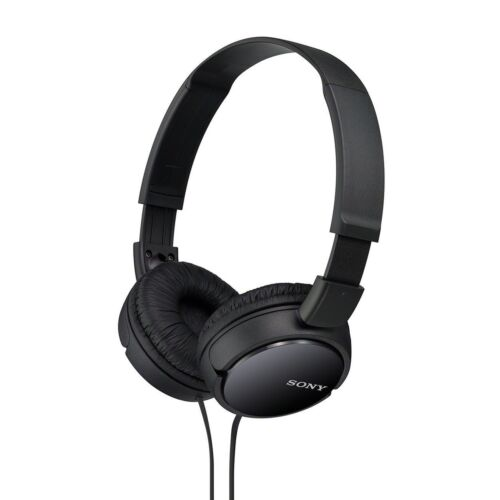 Sony Noise-Canceling Over-the-Ear Headphones Black MDRZX110NC/B