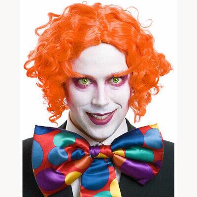 Mad Hatter Eyebrows (Orange Mad Hatter Costume Wig Eyebrows Set Johnny Depp Alice Wonderland)