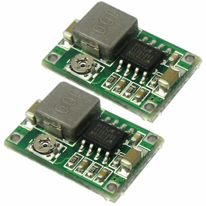 2pcs Mini360 3A DC Voltage Step Down Power Converter Buck Module 3.3V 5V 9V 12V