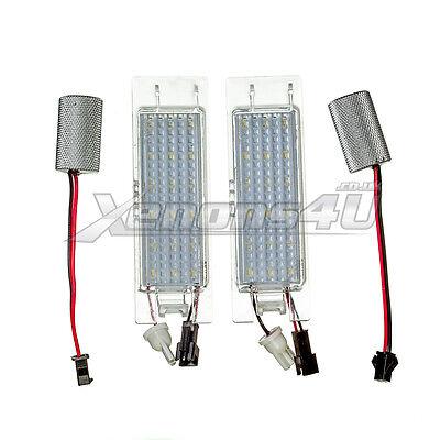 Vauxhall 18 LED Number License Plate Light Bulbs Lamps Xenon White 6000K