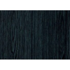 2 Rolls Sticky Back Fablon Black Ash Woodgrain 67.5cmx2m Cover to Worktops/doors