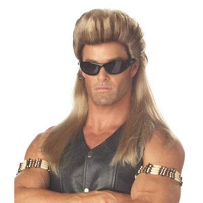 Bounty Hunter Mullet Wig Dog The Bail Enforcer TV Show 80s Mullet Adult Costume](Bounty Hunter Costumes)