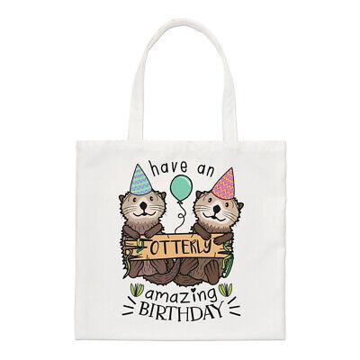 ing Birthday Regular Tote Bag Funny Happy Animal Shopper (Happy Birthday Shoppen)
