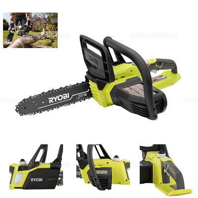 NEW RYOBI Cordless Chainsaw 10in Bar-Chain Outdoor 18-Volt L