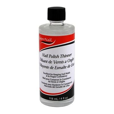 Supernail Nail Polish Thinner 4oz 118ml