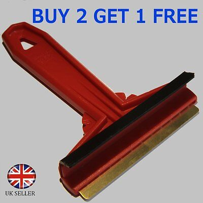 ICE WINDSCREEN SCRAPER SNOW FROST WITH CONDENSATION REMOVER CAR FOR WINTER NEW