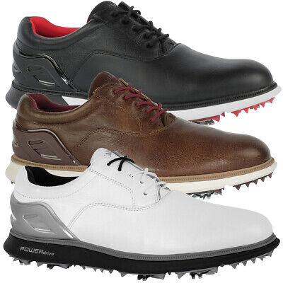 Callaway Men's La Grange Leather Golf Shoe with 2-Year Waterproof NEW