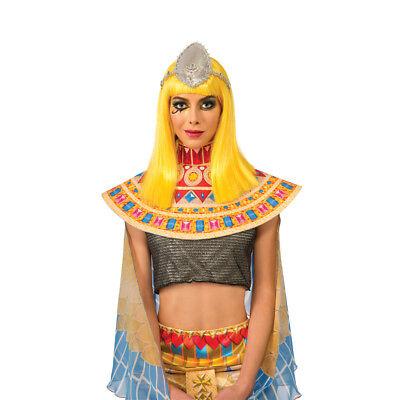 Katy Perry Dark Horse Wig Adult Yellow Patra Womens Costume Singer Video Pop