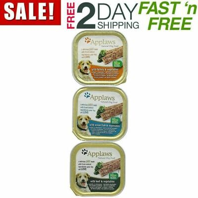 Applaws Dog Food Pate Multipack Fresh Selection, 5x150g