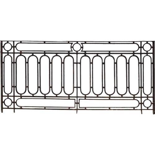 Antique French Wrought Iron Balcony Railing 19th century