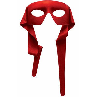 Rot Augen Maske mit Bindung Teenage Mutant Ninja Turtles Augenmaske Tmnt Raphael ()