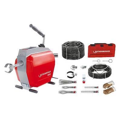 Rothenberger R 600 Rohrreinigungsmaschine Set + Spiralen-Set  1.9173  -  5/5