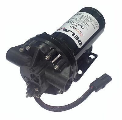 Delavan 5850-111e-sb Powerflo Diaphragm Pump 12v 60 Psi 5 Gpm W Bypass