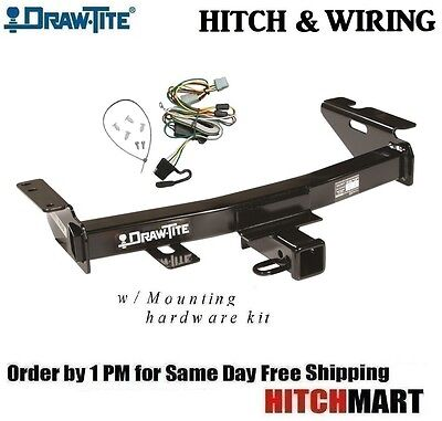 """FITS 1997-2005 CHEVY VENTURE, CLASS 3 TRAILER HITCH & WIRING   2"""" TOW RECEIVER"""