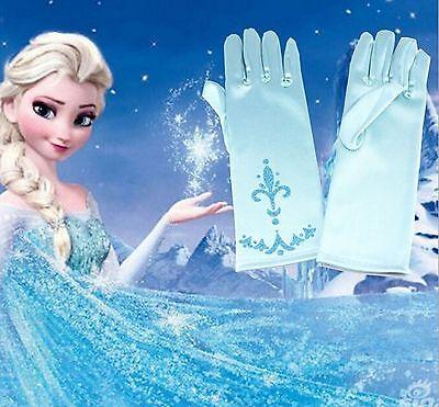 Handschuhe Frozen Elsa Prinzessin Mädchen Kostüm Anna Kinder - Frozen Mädchen Anna Handschuhe