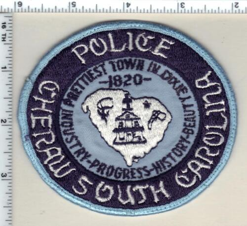 Cheraw Police (South Carolina) Shoulder Patch new from 1989