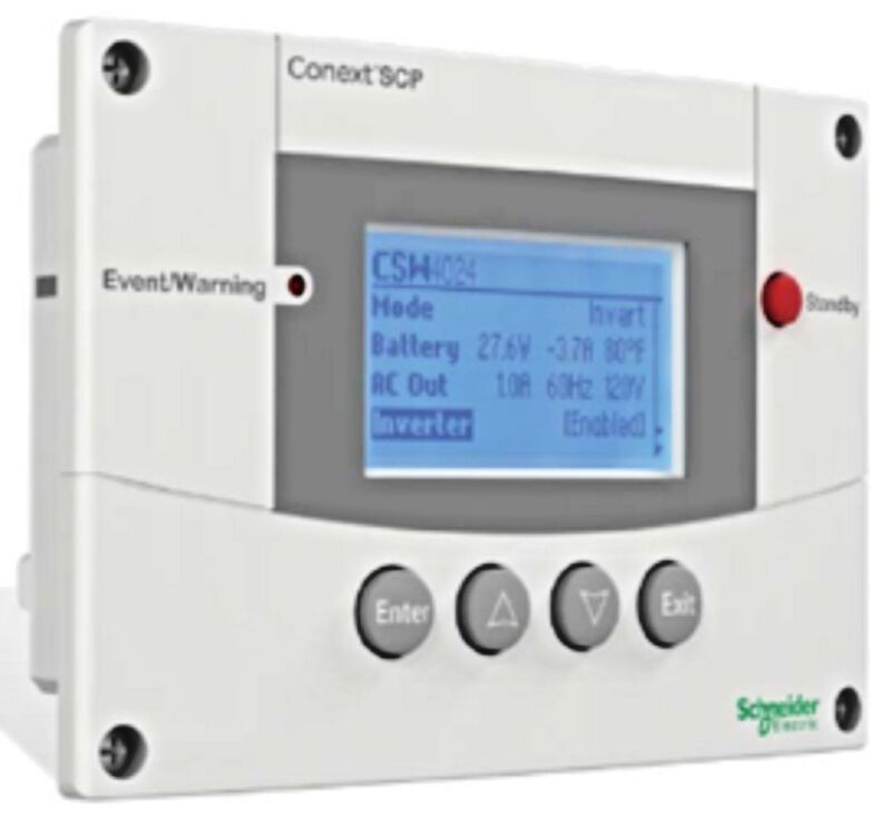 Schneider, System Control Panel, for Conext XW & SW Inverters, RNW865105001