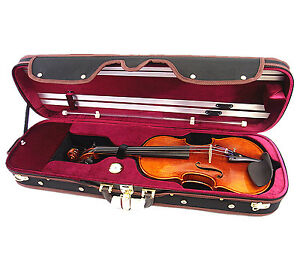 NEW-VC950RB-4-4-Pro-Enhaced-Wooden-Violin-Case-I-free-violin-string-Limited