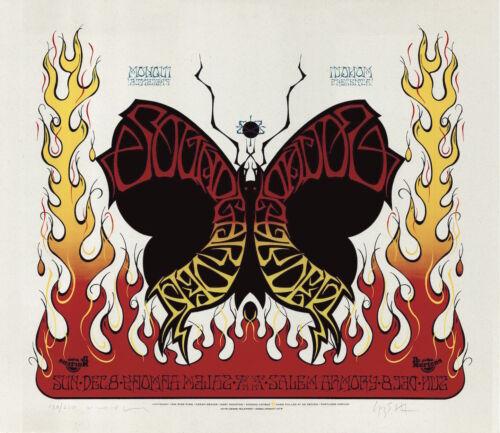 MINT & SIGNED Soundgarden 1996 Salem Armory Voodoo Catbox Poster 130/220