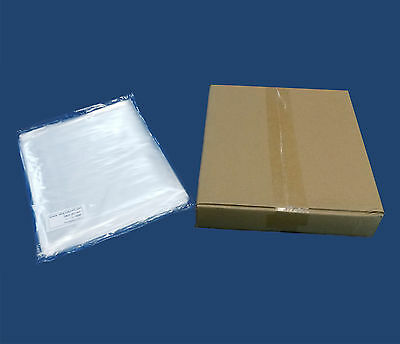 1000 Poly Bags 7x10 Clear 1-mil Flat Open Top End Ldpe Plastic Baggies