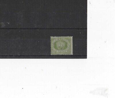SAN MARINO , 1877-92, SG24 TYPE 1 45c GREEN, MH    CV £8.00+