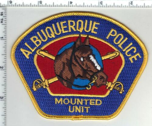 Albuquerque Police (New Mexico) 1st Issue Mounted Unit Shoulder Patch