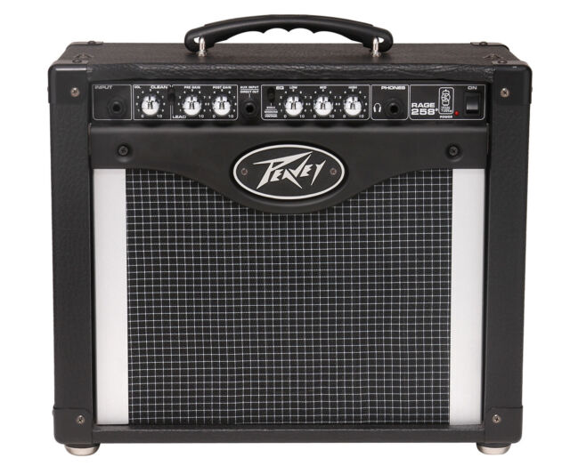 Peavey Rage 258 Guitar Amp (with Trans Tube emulation circuitry) 25 Watts (RMS)