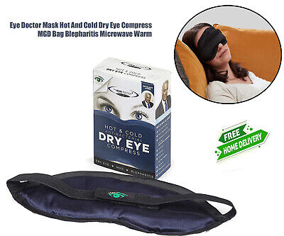 Eye Doctor Mask Hot And Cold Dry Eye Compress MGD Bag Blepharitis Microwave Warm