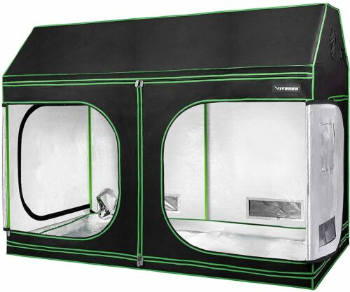 VIVOSUN Indoor Grow Tent Roof Cube Tent with Floor Tray for Plant  Non Toxic