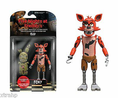 New Authentic Five Nights At Freddys Foxy 5  Figure In Stock Baf Spring Trap